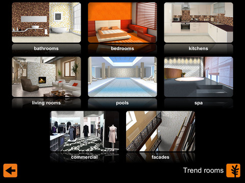 Arredare casa con l 39 ipad itrend 1 3 appmaniaci for App per arredare casa gratis