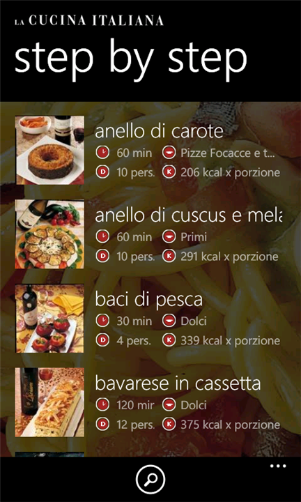 la cucina italiana windows phone