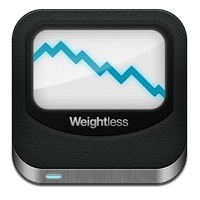 weightless per iphone