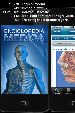 enciclopedia medica illustrata lite per iphone e ipad