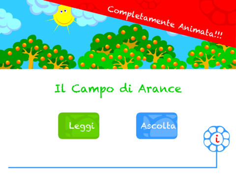 il campo di arance iphone