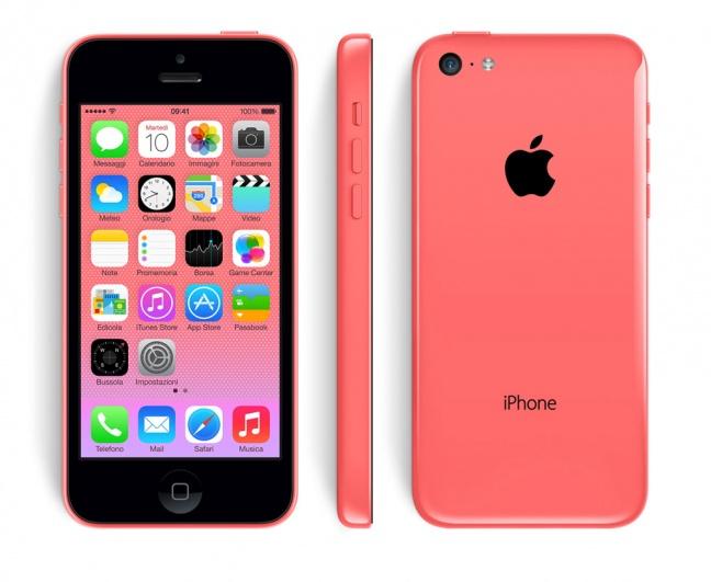 iphone 5c rosa